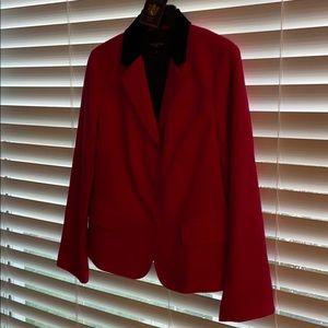 Talbots wool blazer in fuschia size 14P NWT!